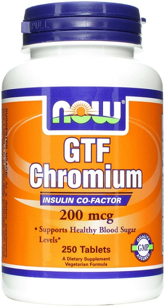 GTF Chromium, 200mcg - 250 tabs versandkostenfrei/portofrei bestellen/kaufen
