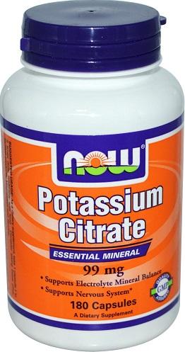 Potassium Citrate, 99mg - 180 caps versandkostenfrei/portofrei bestellen/kaufen