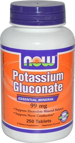 Potassium Gluconate, 99mg - 250 tabs versandkostenfrei/portofrei bestellen/kaufen