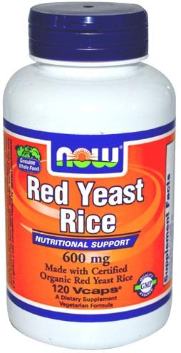 Red Yeast Rice, 600mg - 120 caps versandkostenfrei/portofrei bestellen/kaufen