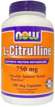 L-Citrulline, 750mg (Caps) - 180 vcaps versandkostenfrei/portofrei bestellen/kaufen
