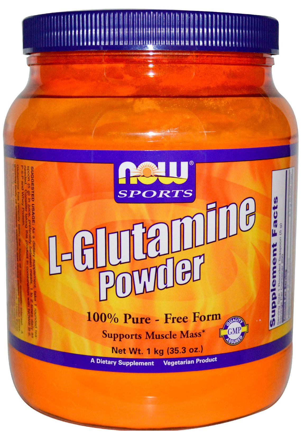 L-Glutamine, 5000mg (Powder) - 1000g versandkostenfrei/portofrei bestellen/kaufen