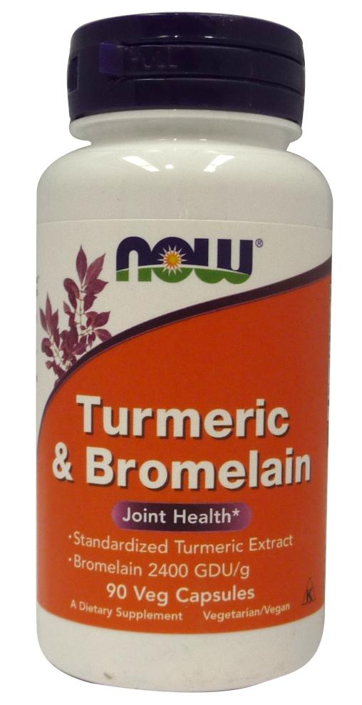 Turmeric & Bromelain - 90 vcaps versandkostenfrei/portofrei bestellen/kaufen