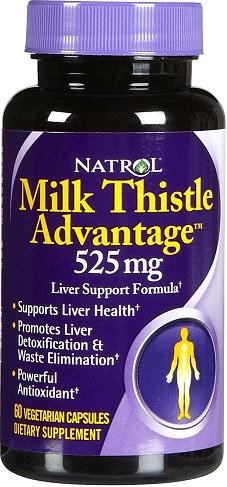 Milk Thistle Advantage, 525mg - 60 vcaps versandkostenfrei/portofrei bestellen/kaufen