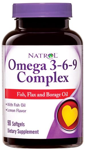 Omega 3-6-9 Complex - 90 Softgels versandkostenfrei/portofrei bestellen/kaufen