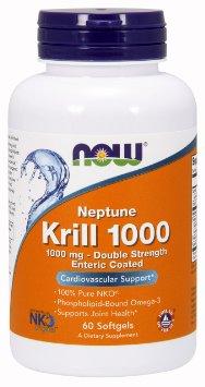 Neptune Krill Oil, 1000mg - 60 softgels versandkostenfrei/portofrei bestellen/kaufen