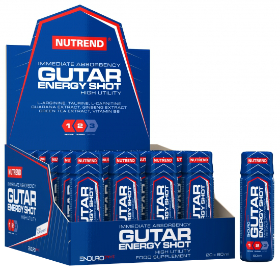 Gutar Energy Shot - 20 x 60 ml. versandkostenfrei/portofrei bestellen/kaufen