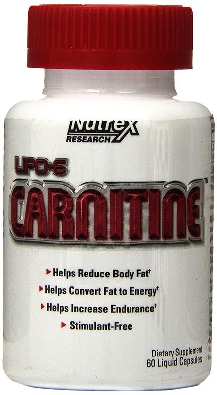 Lipo-6 Carnitine - 60 caps versandkostenfrei/portofrei bestellen/kaufen