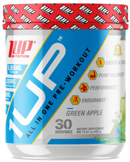 1Up For Men Pre-Workout INT, Watermelon - 450g versandkostenfrei/portofrei bestellen/kaufen