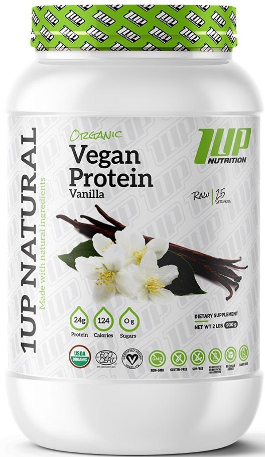 Organic Vegan Protein, Chocolate - 900g versandkostenfrei/portofrei bestellen/kaufen