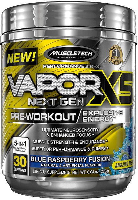 Vapor X5 Next Gen Pre-Workout, Fruit Punch - 232g versandkostenfrei/portofrei bestellen/kaufen