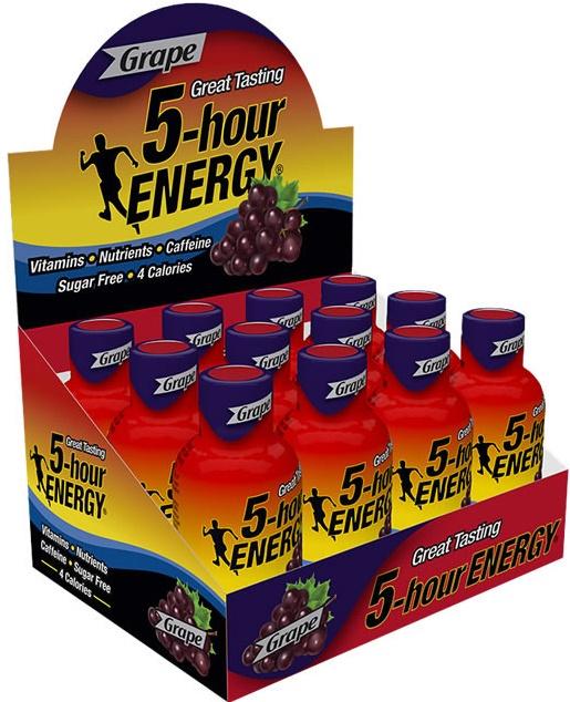 5-Hour Energy, Grape - 12 shots versandkostenfrei/portofrei bestellen/kaufen