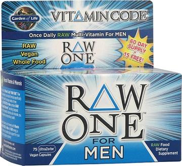 Vitamin Code RAW ONE - for Men - 75 caps versandkostenfrei/portofrei bestellen/kaufen