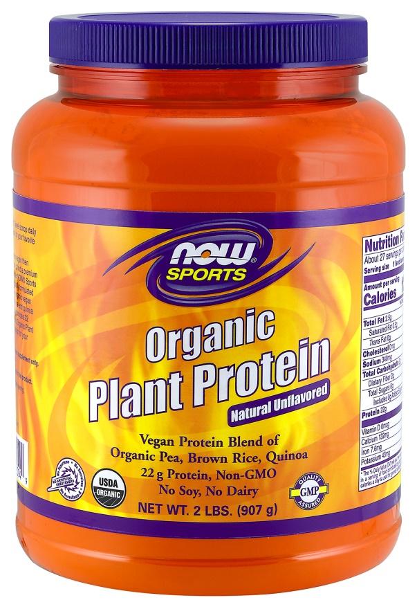 Plant Protein, Organic Vanilla - 907g versandkostenfrei/portofrei bestellen/kaufen