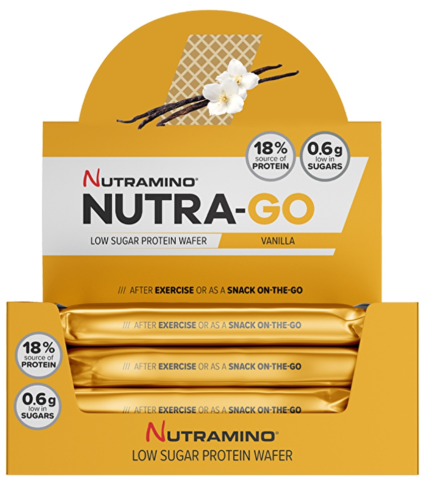 Nutra-Go Protein Wafer, Coconut - 12 x 39g versandkostenfrei/portofrei bestellen/kaufen