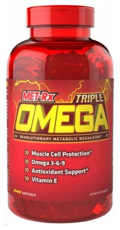 Triple Omega 3-6-9 - 240 softgels versandkostenfrei/portofrei bestellen/kaufen