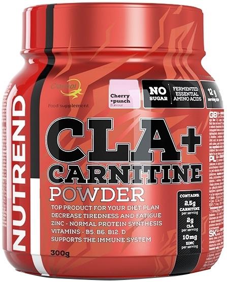 CLA + Carnitine Powder, Cherry + Punch - 300g versandkostenfrei/portofrei bestellen/kaufen