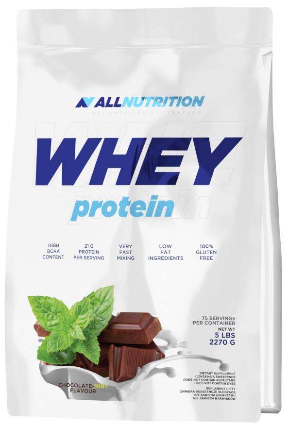 Whey Protein, Strawberry - 2270g versandkostenfrei/portofrei bestellen/kaufen