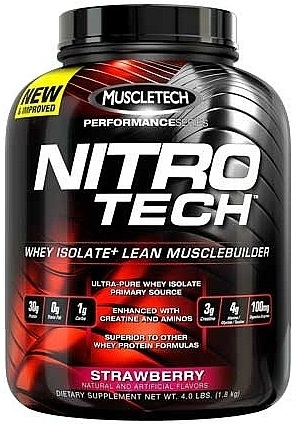 Nitro-Tech Performance Series, Strawberry - 1800g versandkostenfrei/portofrei bestellen/kaufen