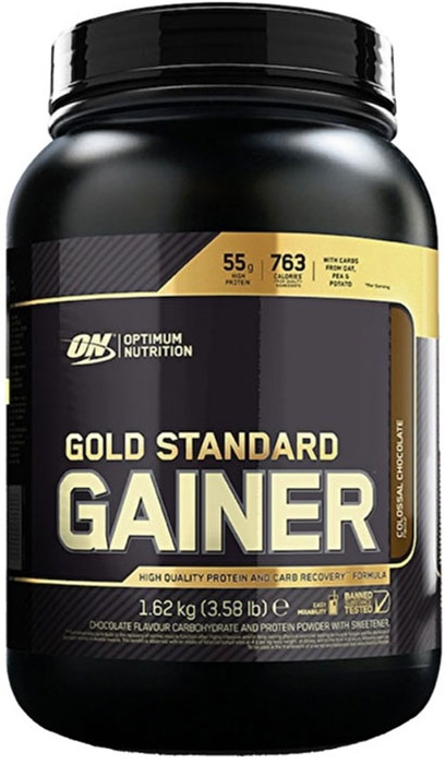1620g, 25,59 EUR/1Kg Optimum Nutrition Gold Standard Gainer, Vanilla - 1620g