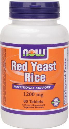 Red Yeast Rice, 1200mg Concentrated 10:1 Extract - 60 tablets versandkostenfrei/portofrei bestellen/kaufen
