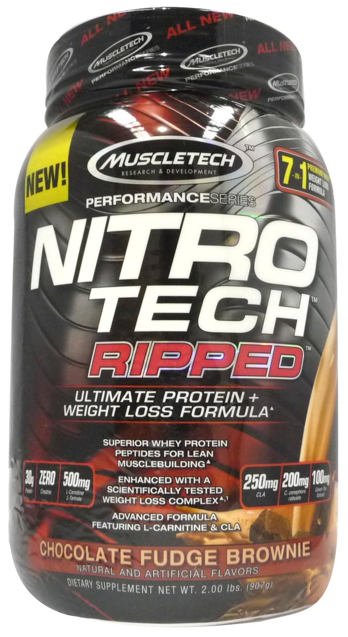 Nitro-Tech Performance Ripped, French Vanilla Swirl - 907g versandkostenfrei/portofrei bestellen/kaufen