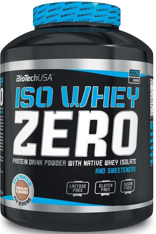 Iso Whey Zero, Strawberry - 2270g versandkostenfrei/portofrei bestellen/kaufen