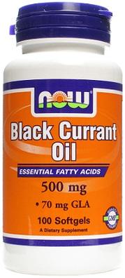 Black Currant Oil, 500mg - 100 softgels versandkostenfrei/portofrei bestellen/kaufen
