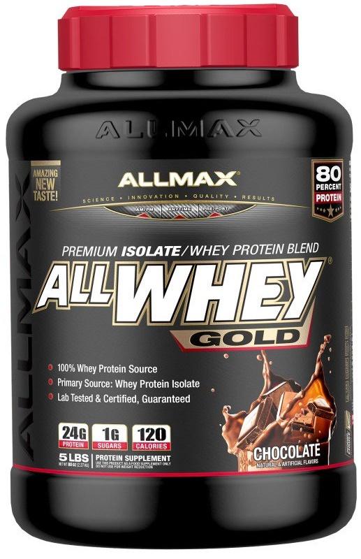 AllMax Nutrition AllWhey Gold, French Vanilla - 2270g