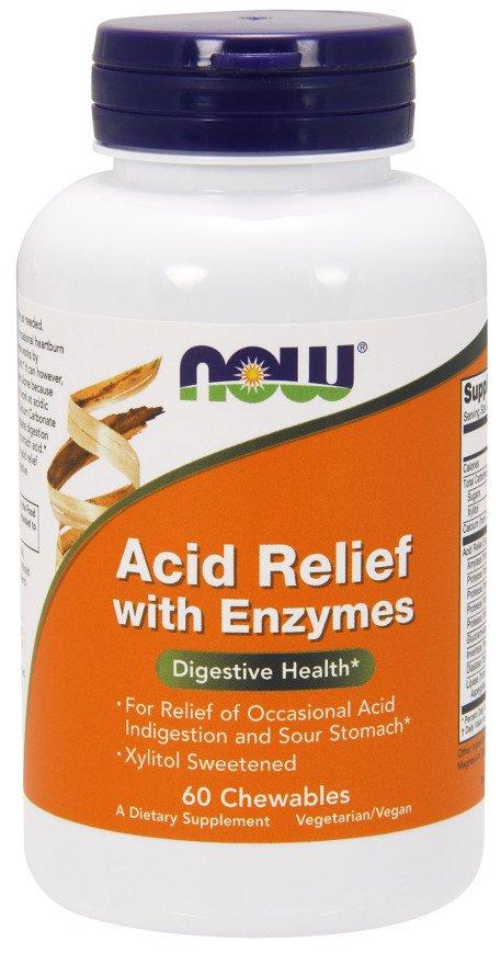 Acid Relief with Enzymes - 60 chewables versandkostenfrei/portofrei bestellen/kaufen