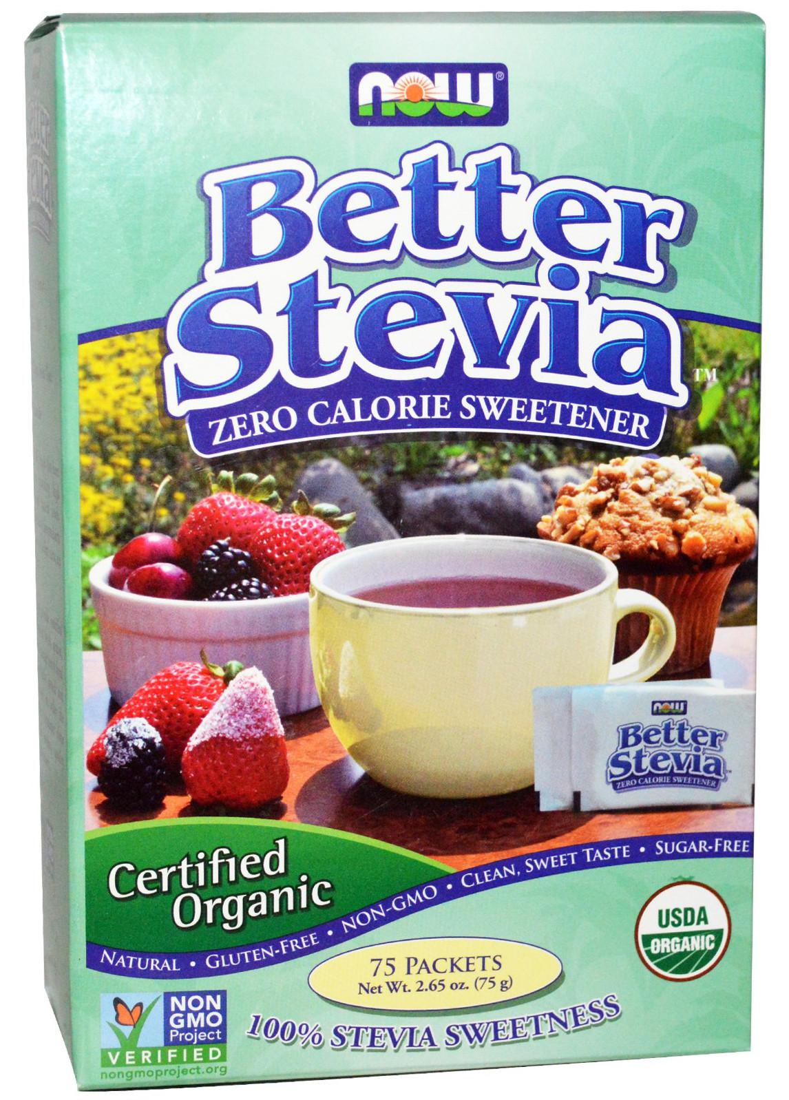Better Stevia, Organic - 75 packets versandkostenfrei/portofrei bestellen/kaufen