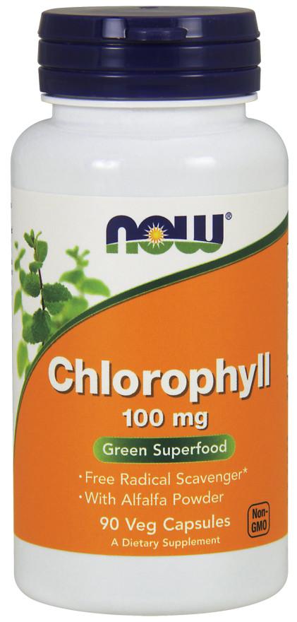 Chlorophyll, 100mg - 90 vcaps versandkostenfrei/portofrei bestellen/kaufen