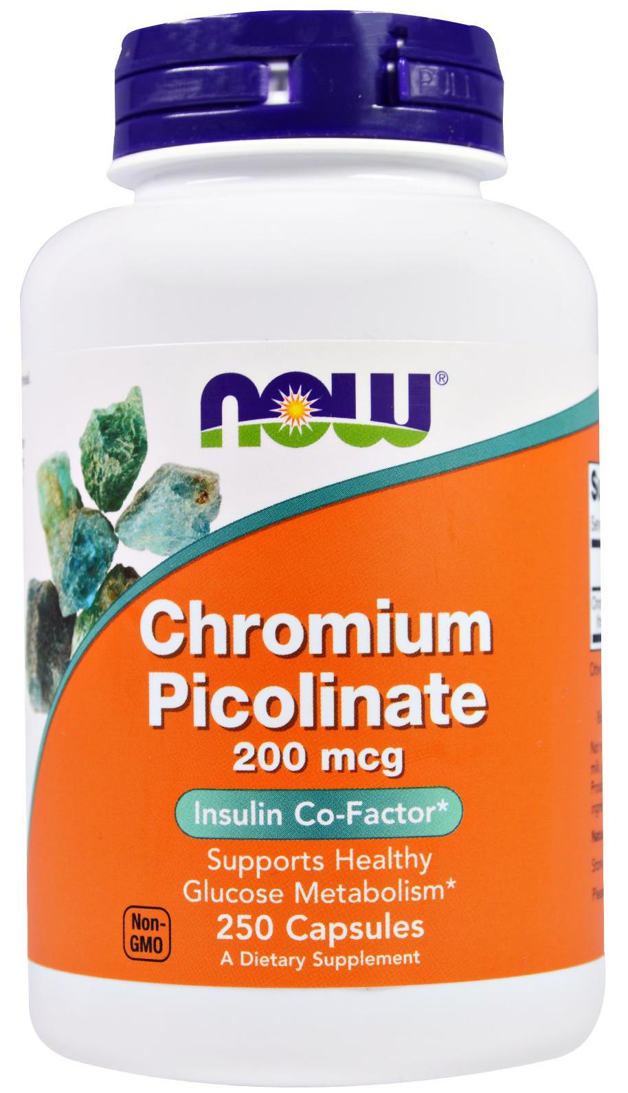 Chromium Picolinate, 200mcg - 250 caps versandkostenfrei/portofrei bestellen/kaufen