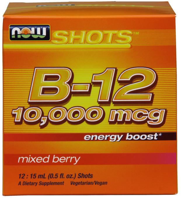 Vitamin B-12 Shots, 10.000mcg - 12 x 15 ml. versandkostenfrei/portofrei bestellen/kaufen