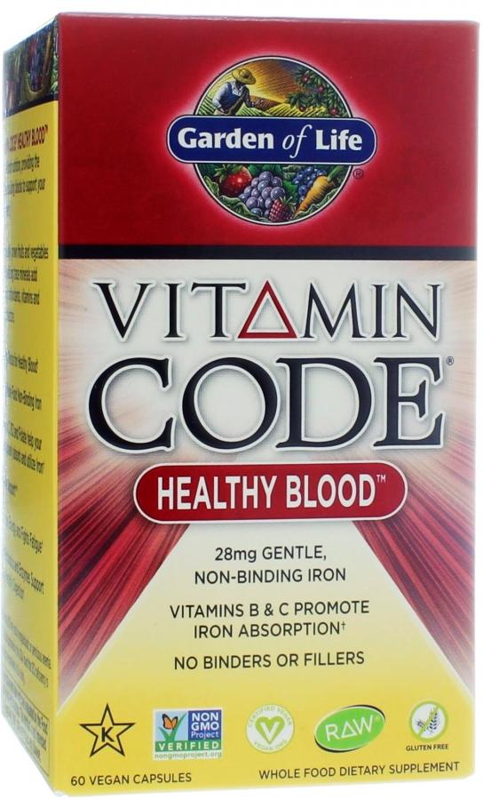 Vitamin Code Healthy Blood - 60 vcaps versandkostenfrei/portofrei bestellen/kaufen