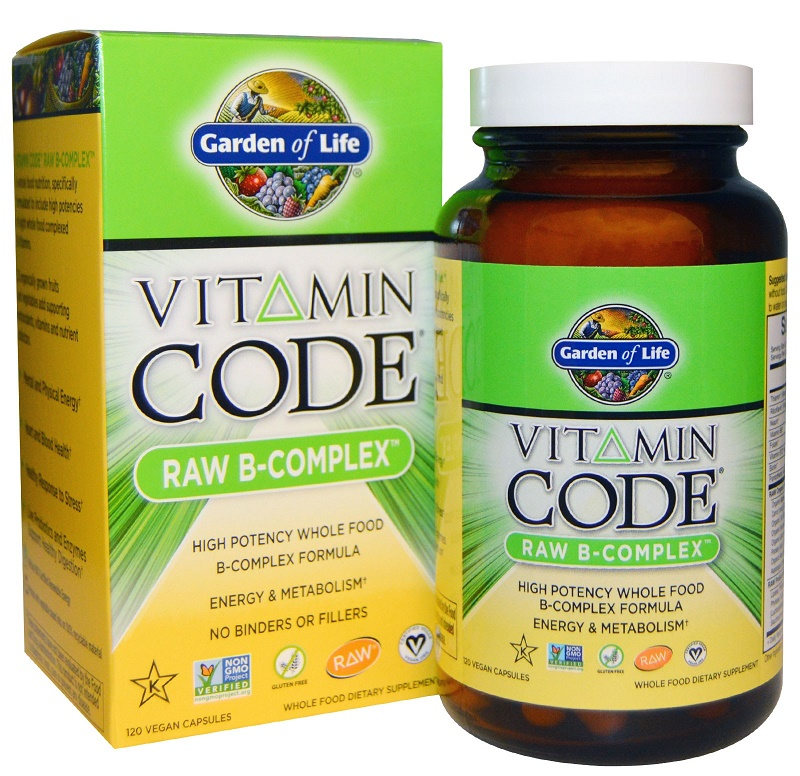Vitamin Code RAW B-Complex - 120 vcaps versandkostenfrei/portofrei bestellen/kaufen