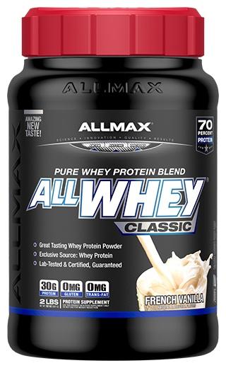 AllMax Nutrition AllWhey Classic, Vanilla - 907g