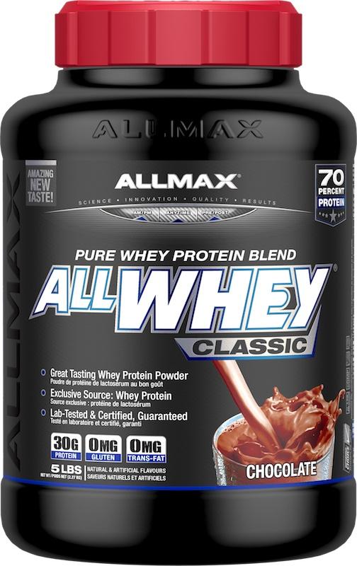 AllMax Nutrition AllWhey Classic, Strawberry - 2270g