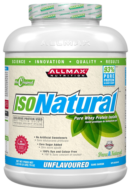 AllMax Nutrition IsoNatural, Unflavored - 2270g
