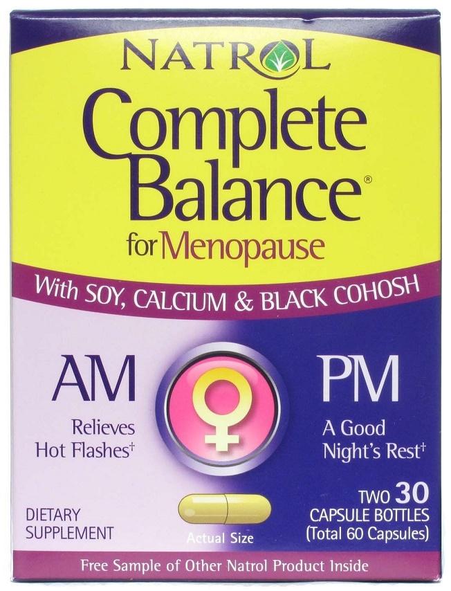 Complete Balance AM/PM For Menopause - 30 + 30 caps versandkostenfrei/portofrei bestellen/kaufen