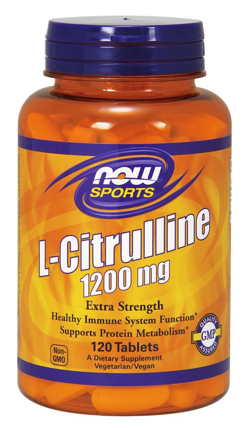 L-Citrulline, 1200mg (Extra Strength) - 120 tablets versandkostenfrei/portofrei bestellen/kaufen
