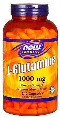 L-Glutamine, 1000mg - 240 capsules versandkostenfrei/portofrei bestellen/kaufen