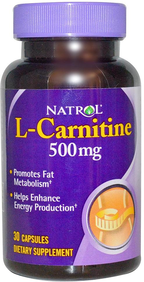 L-Carnitine, 500mg - 30 caps versandkostenfrei/portofrei bestellen/kaufen