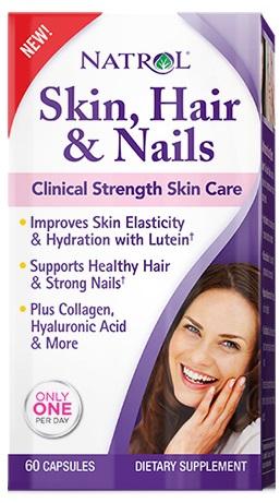 Skin, Hair and Nails - 60 caps versandkostenfrei/portofrei bestellen/kaufen