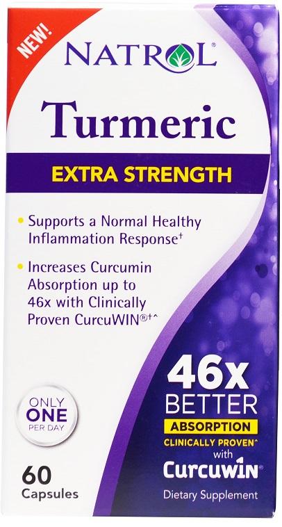 Turmeric, Extra Strength - 60 caps versandkostenfrei/portofrei bestellen/kaufen