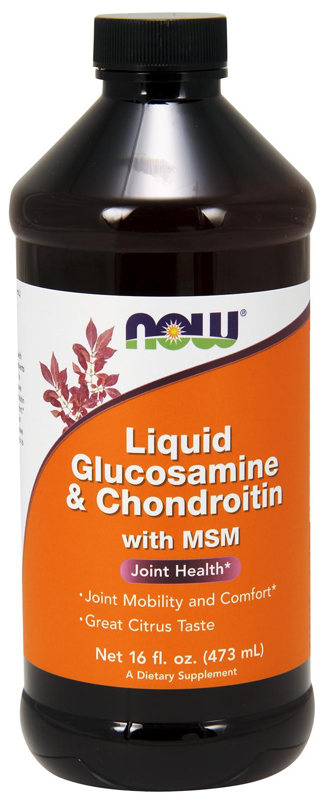 Glucosamine & Chondroitin with MSM - 473ml. versandkostenfrei/portofrei bestellen/kaufen