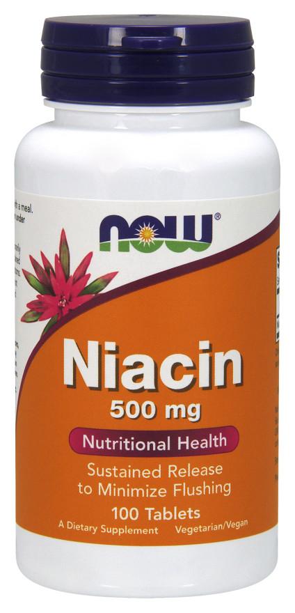 Niacin, 500mg - 100 tablets versandkostenfrei/portofrei bestellen/kaufen