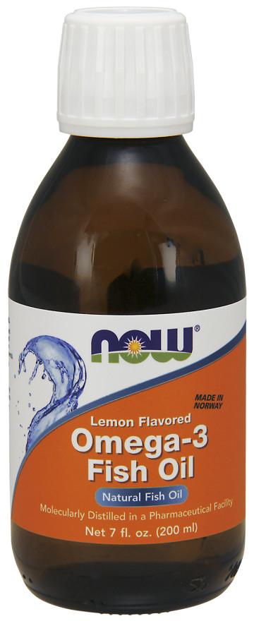 Omega-3 Fish Oil Liquid, Lemon - 200 ml. versandkostenfrei/portofrei bestellen/kaufen