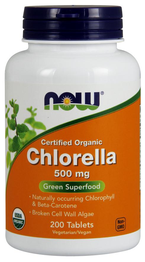 Chlorella, 500mg Organic- 200 tablets versandkostenfrei/portofrei bestellen/kaufen