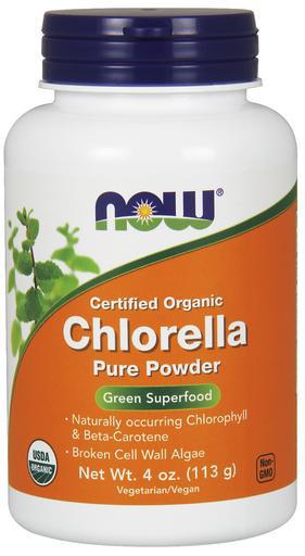 Chlorella, Organic Powder - 113g versandkostenfrei/portofrei bestellen/kaufen